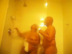 Kinky Couple Having Sex In The Shower
