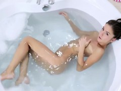 Stunning Russian Teen In The Bath Tub