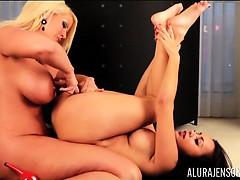 Alura Jenson and Tya Quinn in Hot Girl GIrl