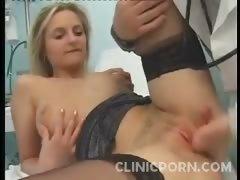 Busty Patient Rammed Hard