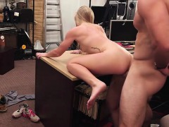 Slim and slut woman sells her car and gets her pussy fucked