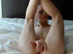 Cute Blonde Girl Having Sex