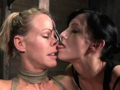 Lesbian Domination In Dungeon
