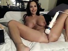 Busty Cam Slut Enjoying Her Toys