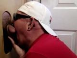 Big Daddy Gets Gloryhole Deep Throat