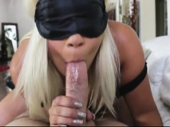 Stepsis receives warm cum in her mouth after getting fucked