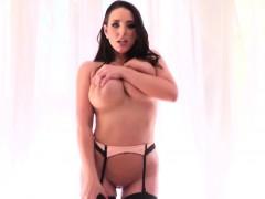 Angela White loves giant cock