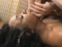 Chubby Black Whore Kylayah Sparks Gagging On Da Dick