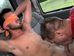 Tied up nice cut cock in rough straight men video and real h