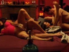 Shy Couple Lighten Up Their Sex Life At A Swinger Party