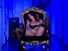 Natalie Hot Loves Herself A Good Solo Show! This Hottie