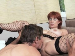 Mature Lady In A Fleshly Play With Her Skillful Paramour
