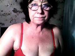 Granny anna solo masturbation