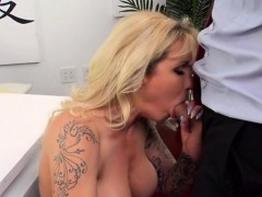Busty Lawyer Ryan Conner Enjoys Ceos Cock And Jizz