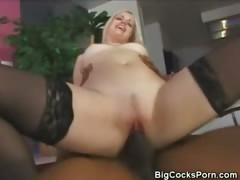 Charlotte Stokley's First Big Cock