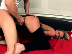 Blonde Chick Ivana Sugar Anally Banged In Doggy