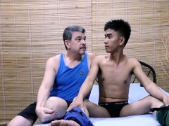 Ttwink Robin Gets His Fuck Holes Plugged With Daddys Cock