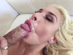 Latina Carmen teases a hunk dude for a pussy fuck