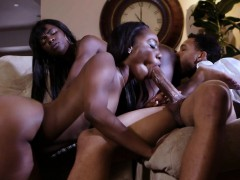 Slutty Ebony Ana Foxxx Fucks In Threesome With Chanell Heart