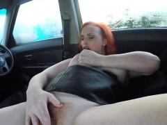 Hot Ginger Chloe Davis Milks Cock Of Driving Examiner
