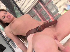 Gorgeous Tyra Moon Gets A Cumshot On Her Ass