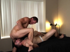 Griffin Barrowses Asshole Hammered Hard By Pierce Paris