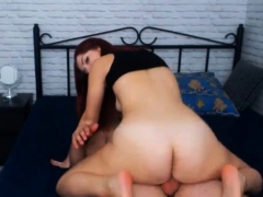 My First Redhead End With Cum In Mouth After Sex