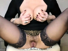 Mature Whore In Black Stockings With Big Tits