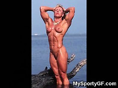 Hardbody GFs and Nude Muscled Girls!