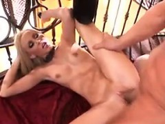 Blonde Whore Licked And Fucked