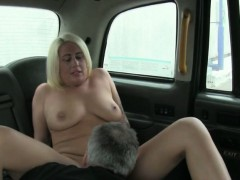 Amateur chick gets her pussy pounded hard by fraud driver