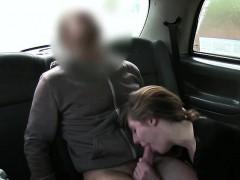 Horny Blonde Passenger Sam gets fucked