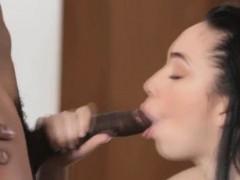 Mom gets big black cock for daughter
