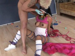 Bound Maid Maya Bazin Gets Fisted And Nailed