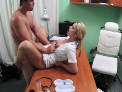 Nurse made her patient very horny on exam