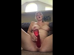 Housewife Monique toying and ass fingering
