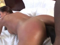 MILF Cheyenne Hunter is banged in doggystyle by black man