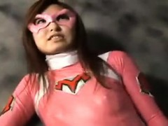 Asian super hero is captured and tortured by her arch enemi