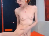 Skinny Mature Masturbating