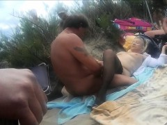 Adult wife gangbanged at Limit beach that is dAgde