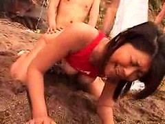 Wild Asian girls indulge in hard sex with horny boys in the