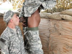 Army boys fuck bareback movies gay hot kinky troops!