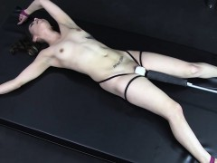 Pennie Spread and Vibed to Orgasms