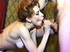 Shy amateur british wife threesome