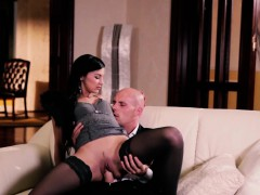 PINUP SEX - pinup babe Keira in deep pussy fuck with lover
