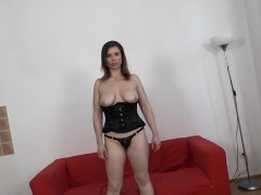 Real Interracial Casting POV Big Boobs White Babe Fuck
