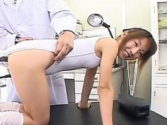 Fine japanese honey uses dick for own anal pleasures