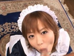 Pov of japanese girl playing with biggest cock