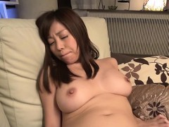 Pretty asian charms with wet blowjob and jock saddling