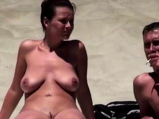 Nude Beach - Hot Wife